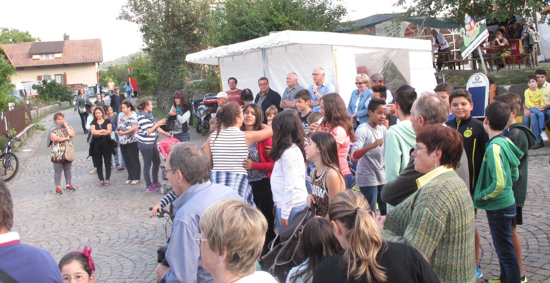 Dorffest 2015 - Chlausgesellschaft Neuenhof (1)