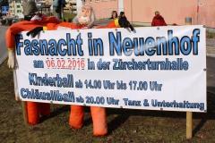 Chlausgesellschaft Neuenhof Kinderball Fasnacht 2016 (2)